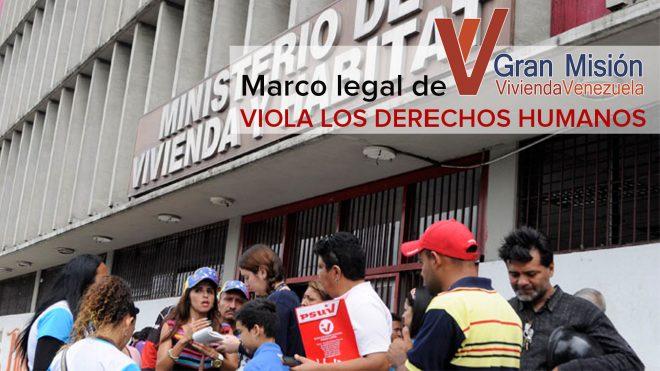 GRAN MISIÓN VIVIENDA VENEZUELA (GMVV)