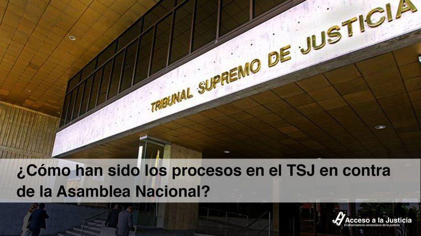¿Cómo han sido los procesos en el TSJ en contra de la Asamblea Nacional_