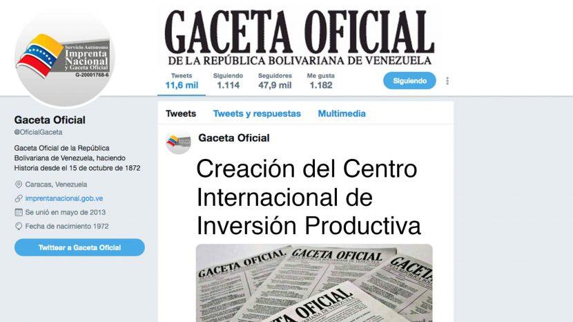 Creación del Centro Internacional de Inversión Productiva