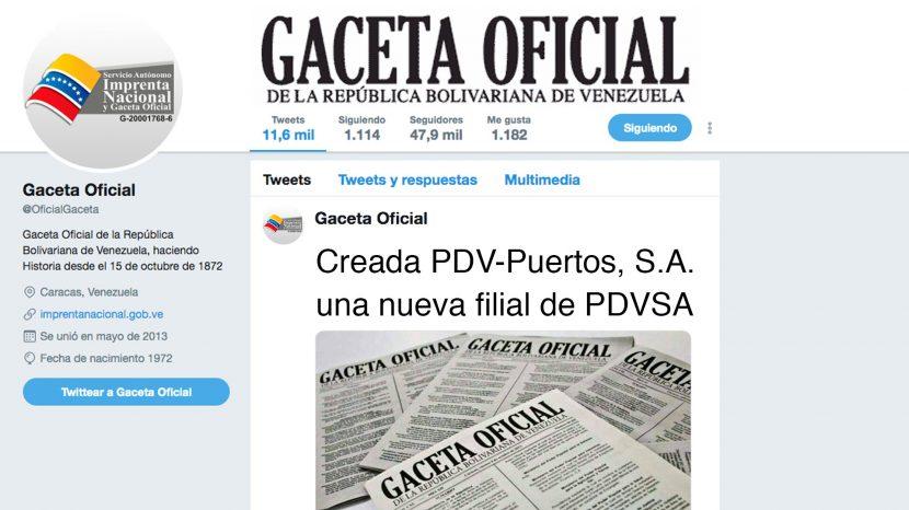 Creada PDV-Puertos S.A. una nueva filial de PDVSA