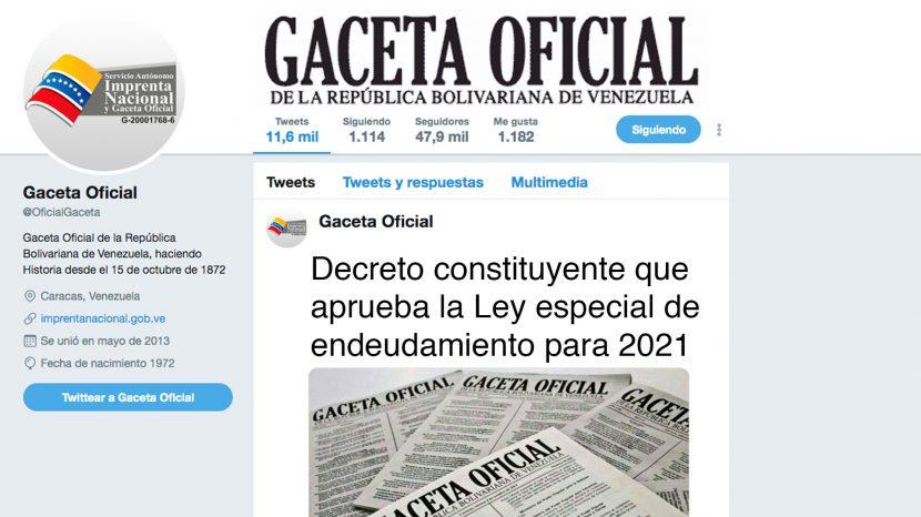 LEY ESPECIAL DE ENDEUDAMIENTO