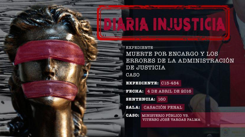 Diaria Injusticia 2020 - Muerte por encargo