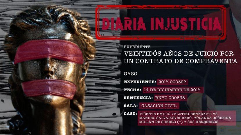 Diaria Injusticia-Conuco La Mira