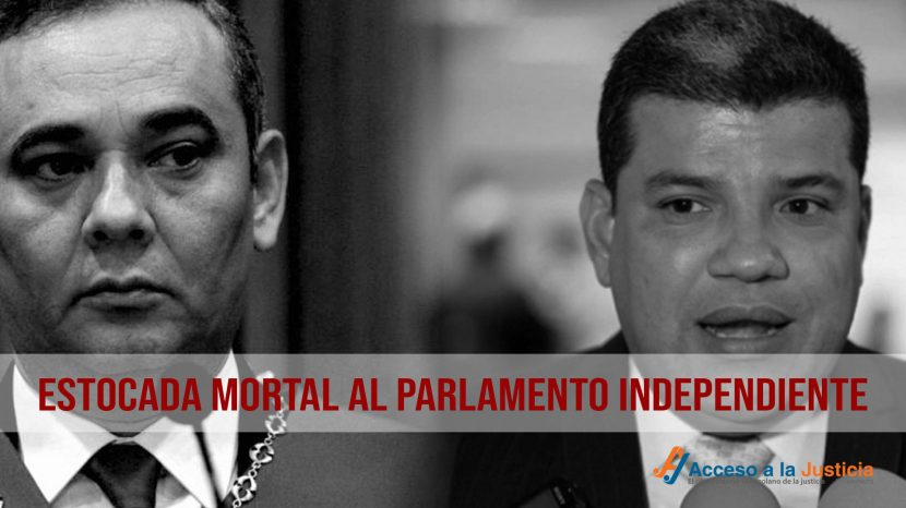 Estocada mortal al Parlamento independiente-1