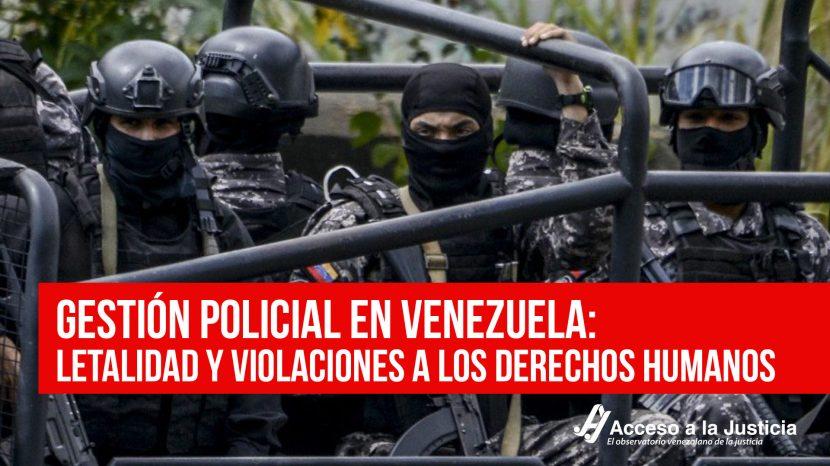 Gestión policial en Venezuela