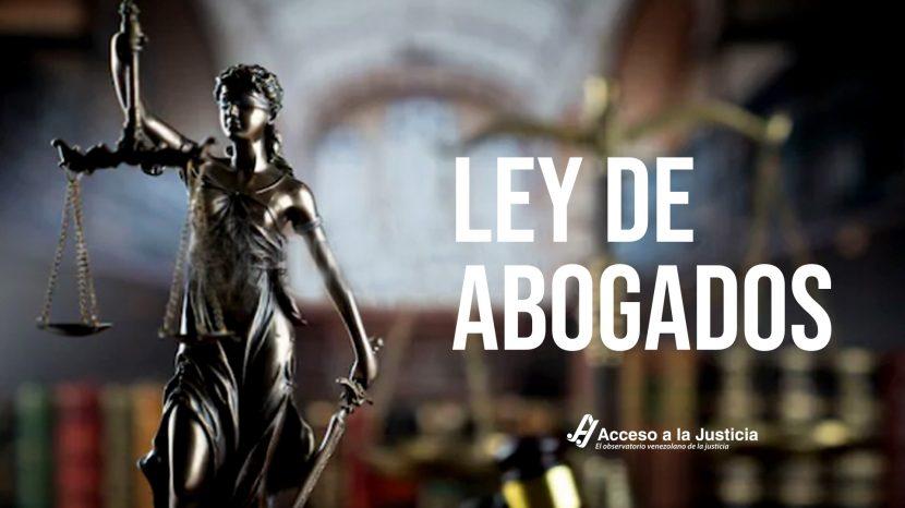 LEY DE ABOGADOS
