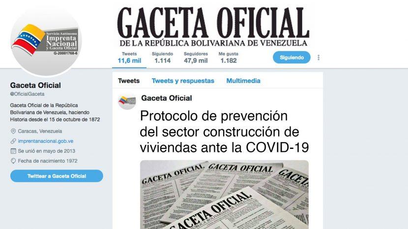 Protocolo de prevención del sector construcción de viviendas ante la COVID-19