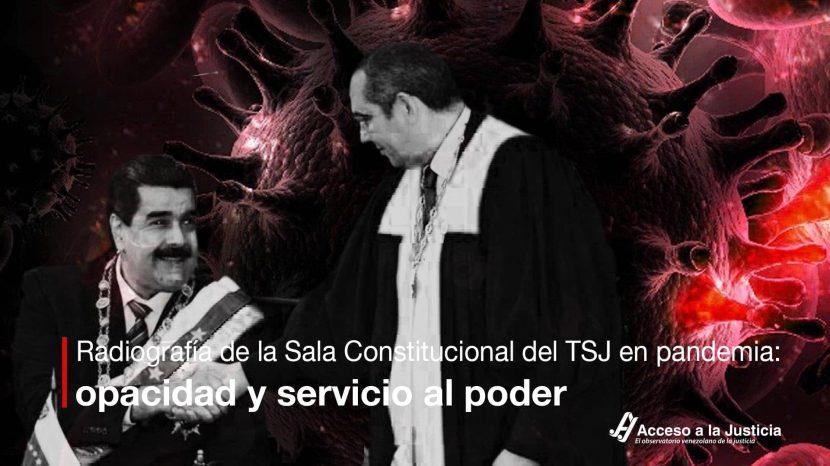 Radiografía de la Sala Constitucional del TSJ en pandemia