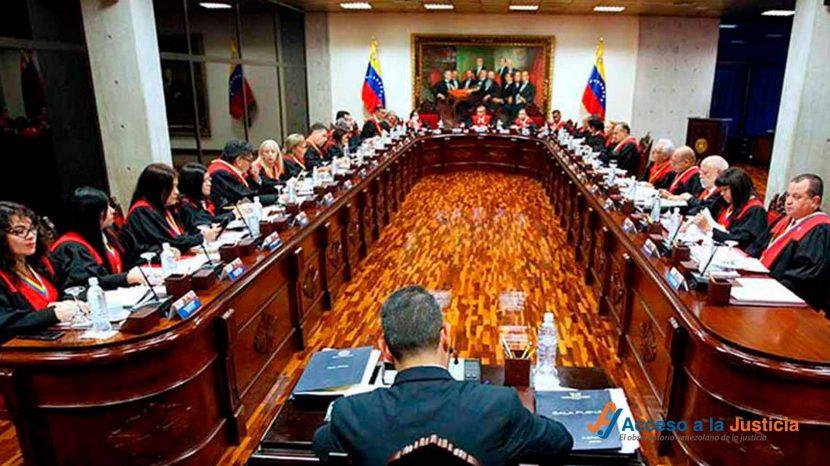 Reglamento interno del Tribunal Supremo de Justicia