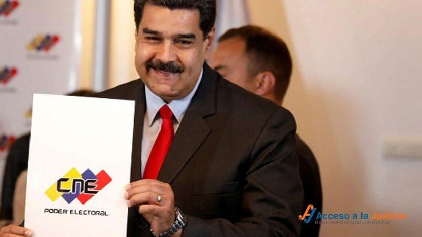 acceso-a-la-justicia-denuncio-ante-la-CIDH-las-parlamentarias-a-medida-de-Maduro