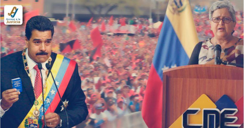 CNE le eliminó la competencia al Gobierno con medidas inconstitucionales