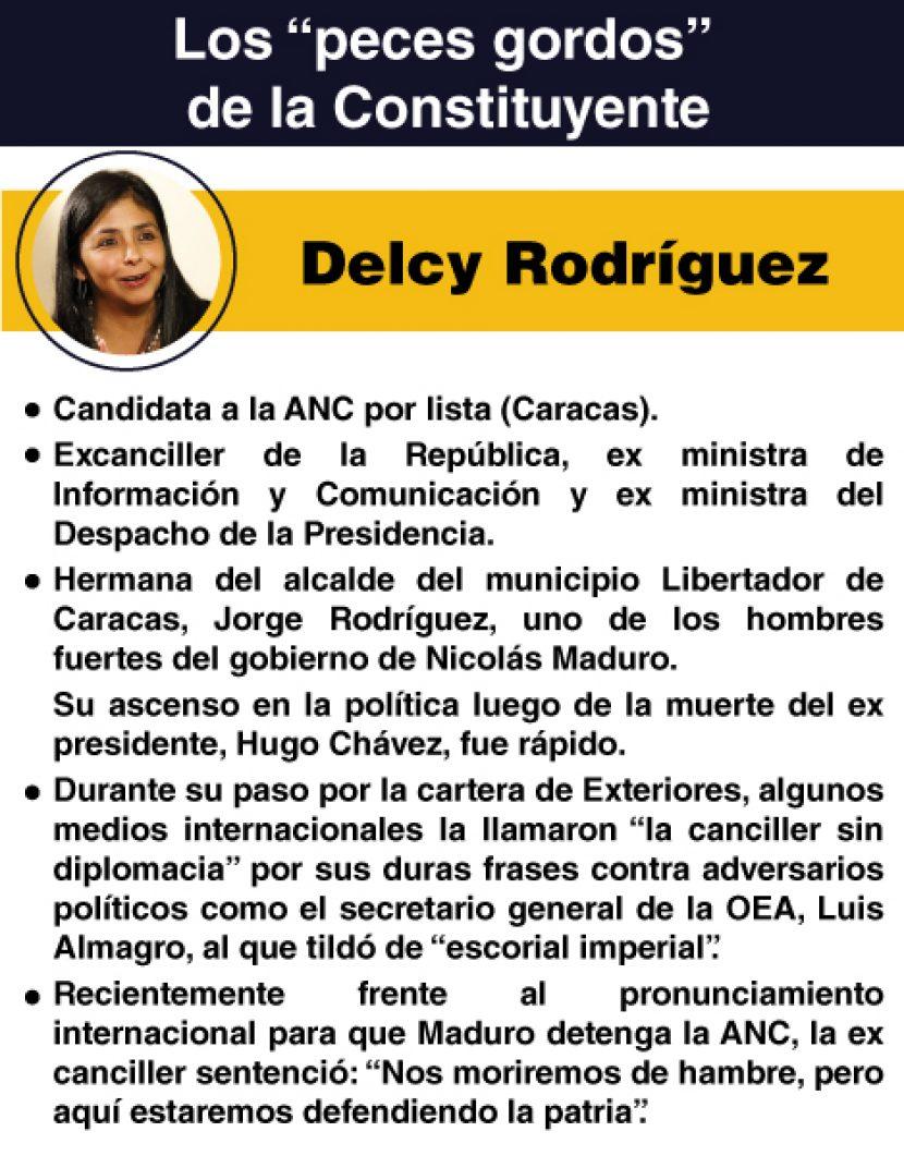 CONSTITUYENTE DELCY RODRÍGUEZ