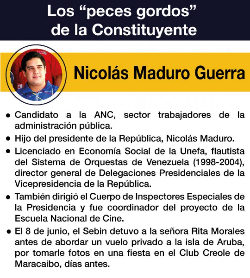 CONSTITUYENTE NICOLÁS MADURO GUERRA