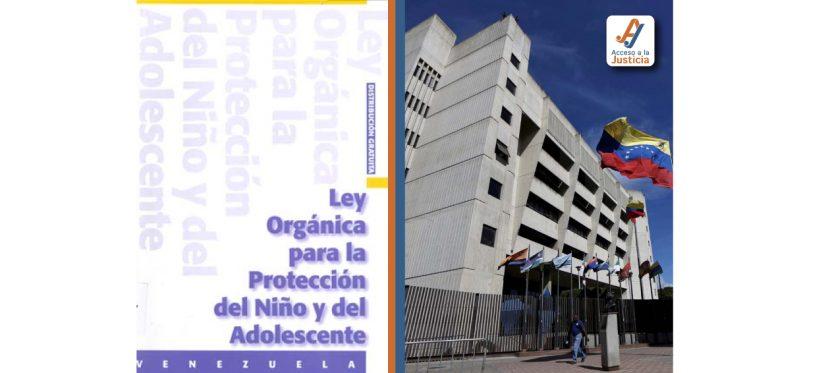 LEY ORGÁNICA PARA LA PROTECCIÓN DEL NIÑO Y DEL ADOLESCENTE