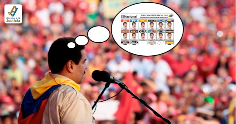 Reelección Nicolás Maduro
