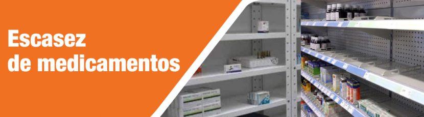 Justicia ciega ante escasez de medicamentos para chamos